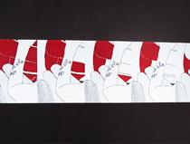 Stylos sur papier / 31x41
